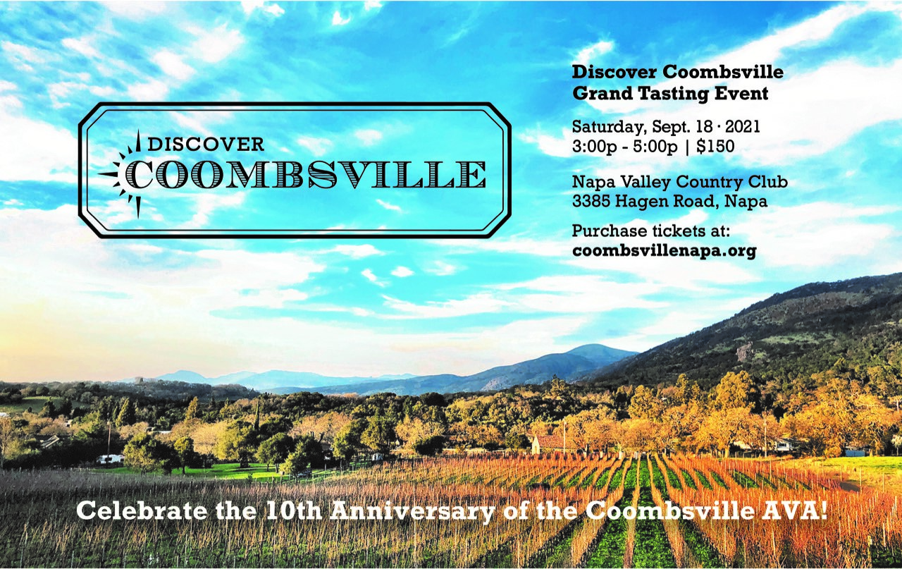 Join us and our fellow Coombsville wineries as we celebrate 10 years as an AVA!