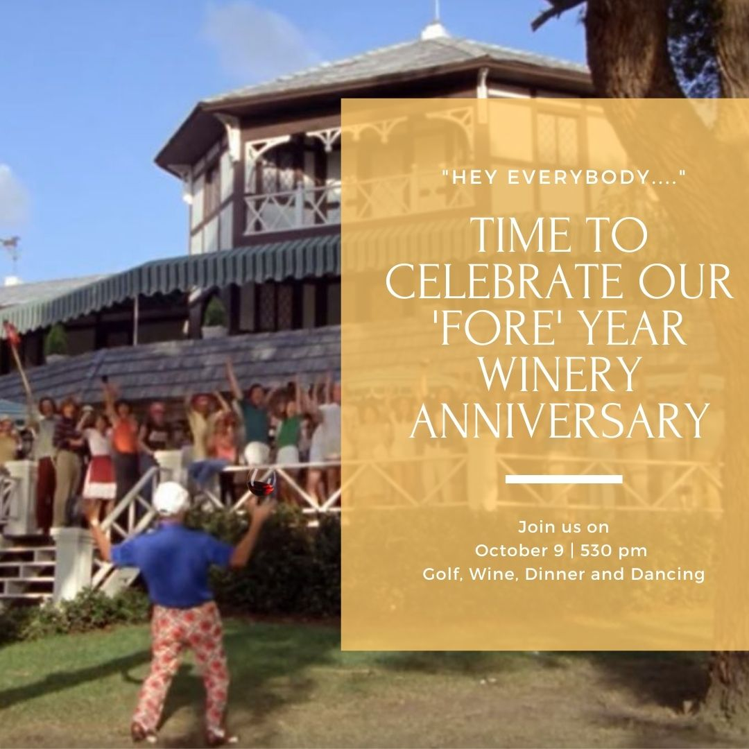 Tickets Now Available to our Winery Party!