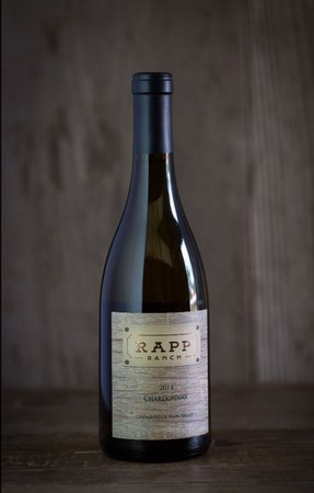 RAPP RANCH 2015 Chardonnay $40 per bottle